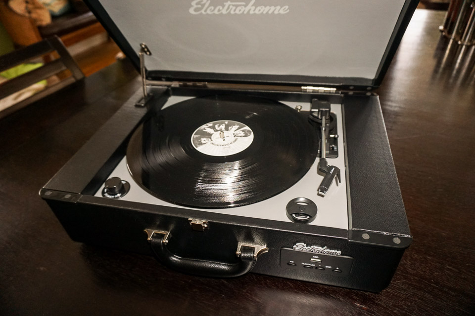 Archer Suitcase Record Player