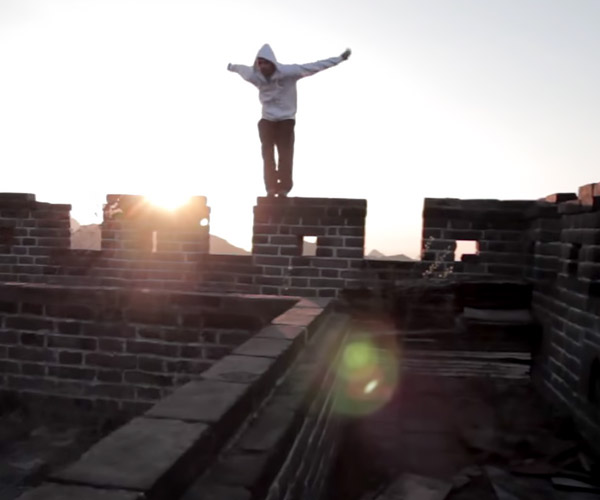 Freerunning China