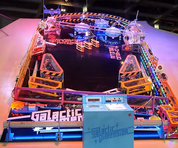 Giant Pinball Machine