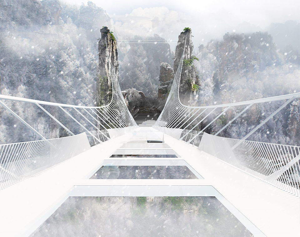 Glass-Bottomed Bridge