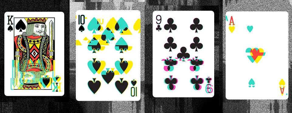 Glitch 2.0 Playing Cards
