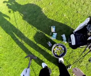 Golf Trick Shots POV