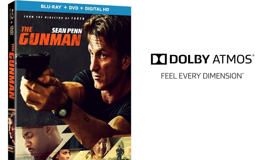 Win: The Gunman on Blu-Ray