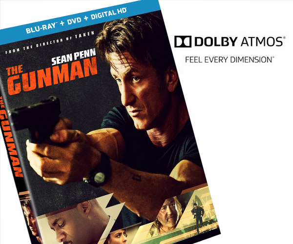 Win: The Gunman on Blu-Ray