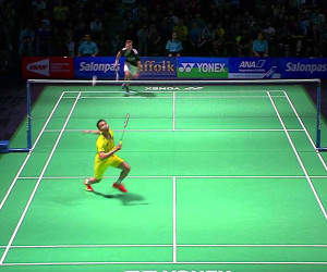 Insane Badminton Rally 3