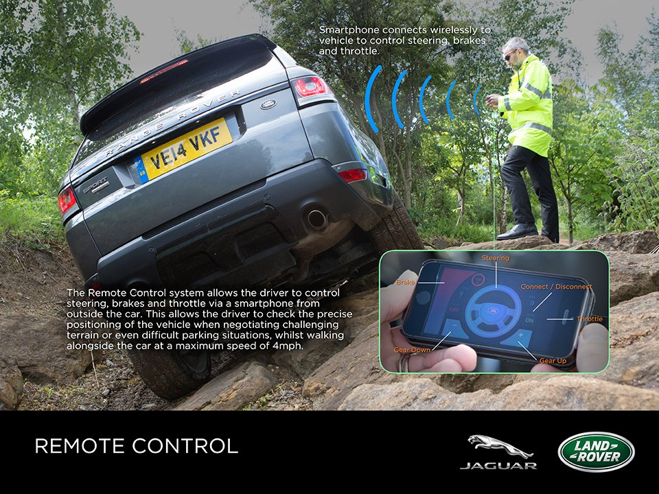 Land Rover Remote Control Concept