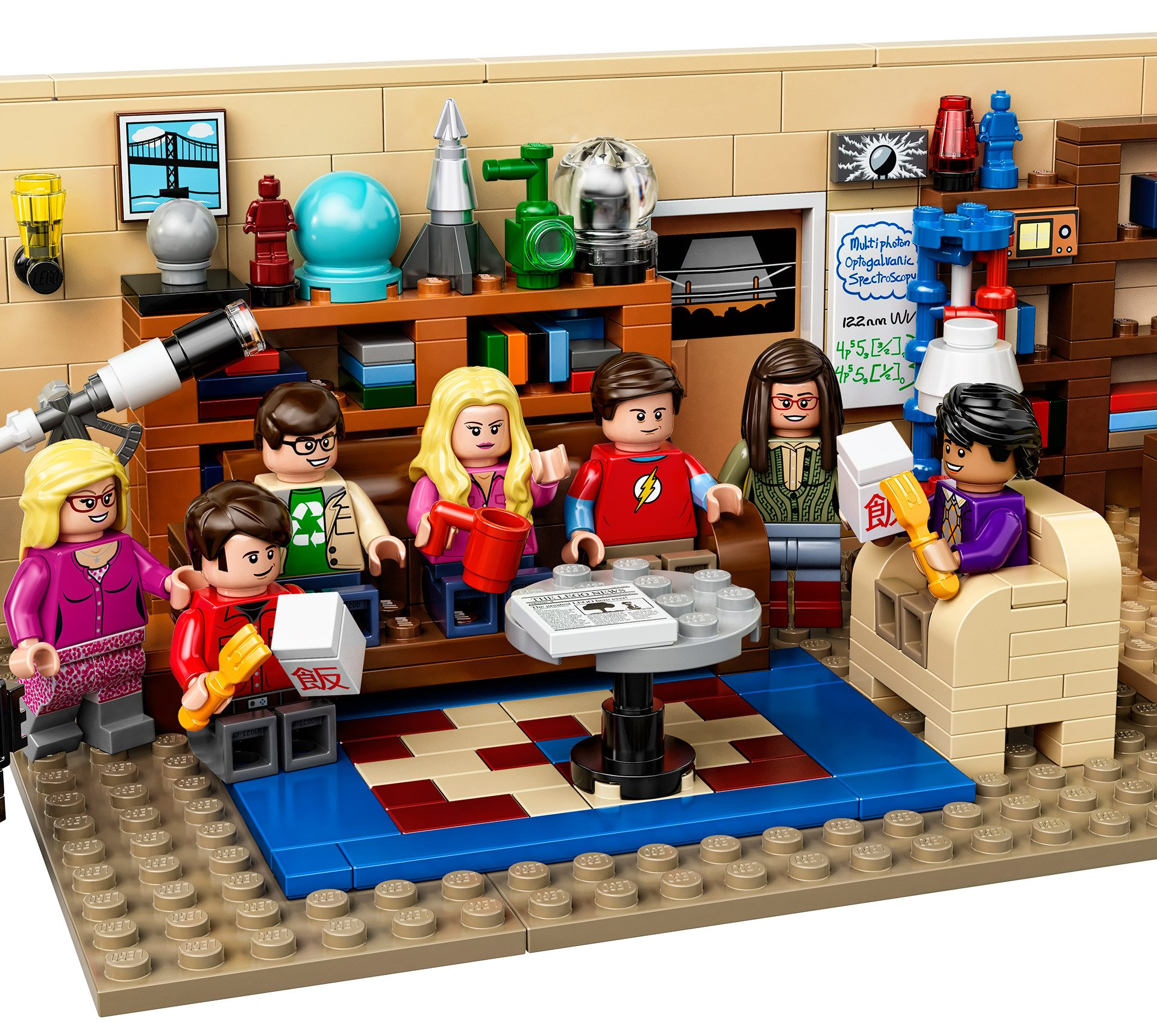 Lego X The Big Bang Theory The Awesomer