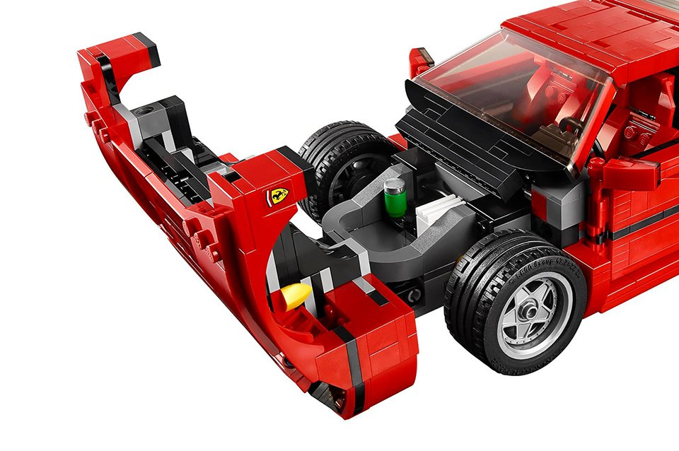Lego Ferrari F40 The Awesomer
