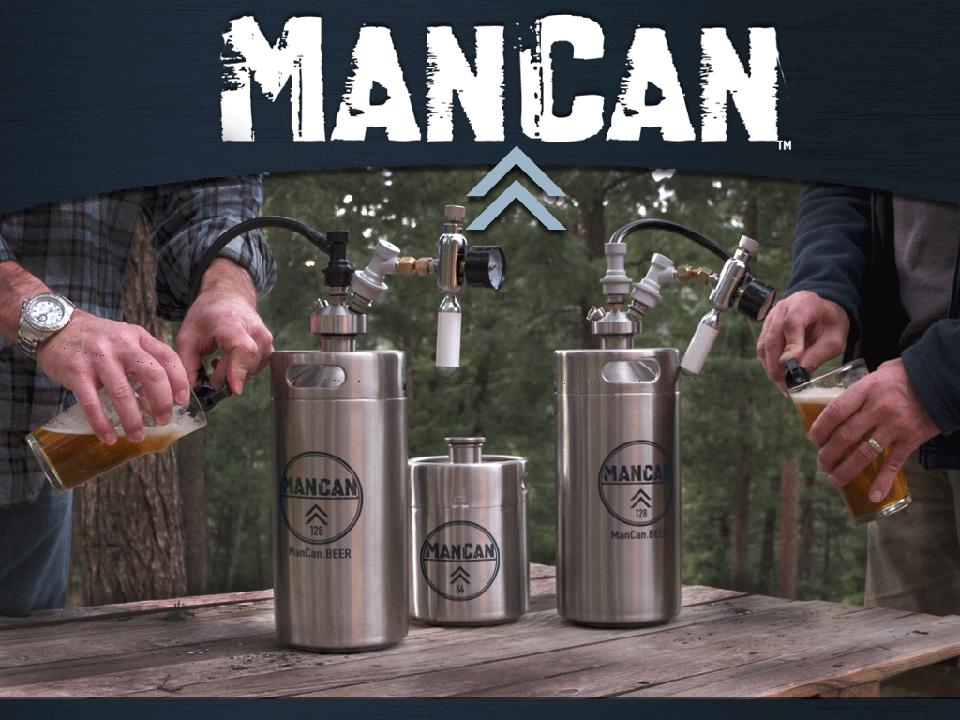 ManCan Personal Keg