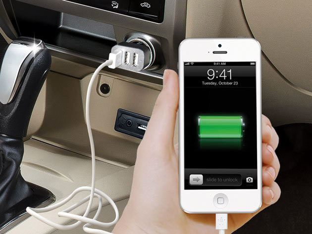 Deal: Mpow 3-Port In-Car Charger