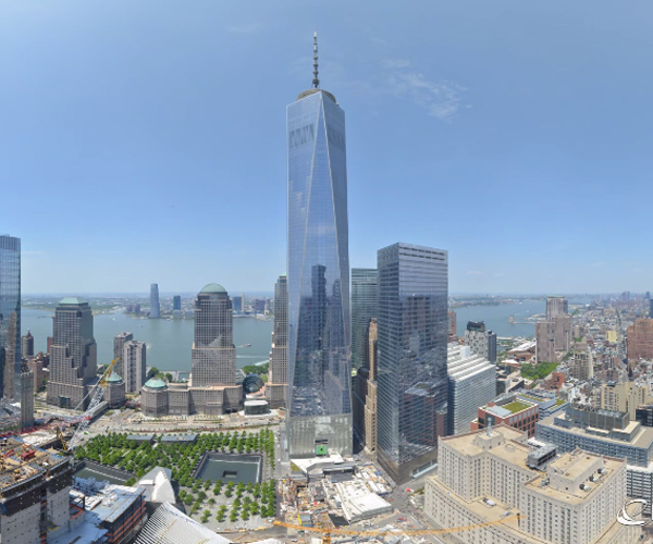 One WTC 11-Year Timelapse