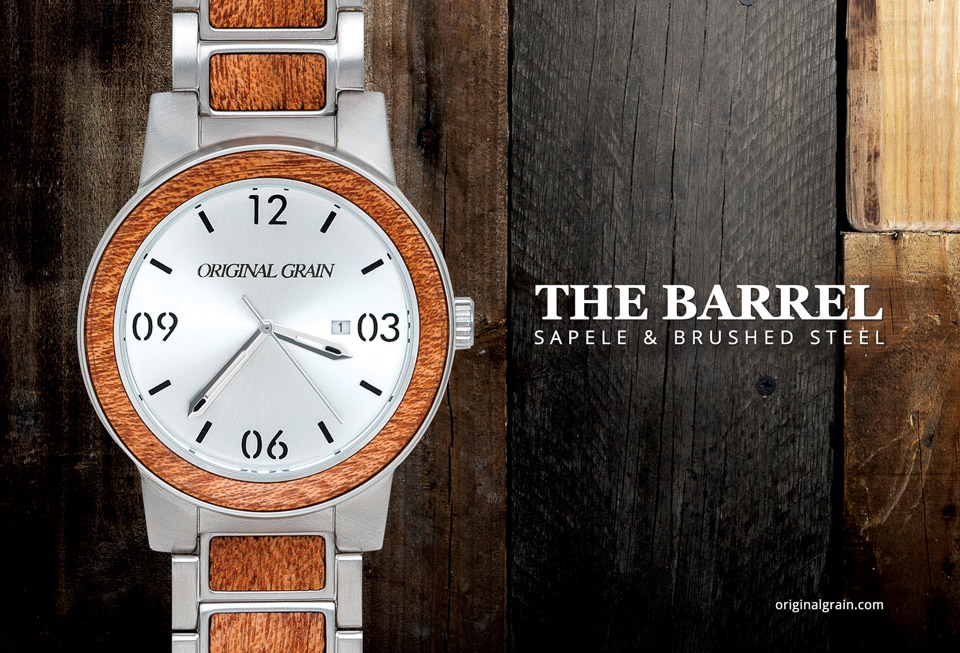 Original Grain Barrel Watch
