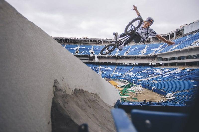 Abandoned Silverdome BMX Ride