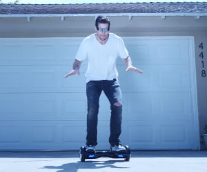 Robot on an Airboard