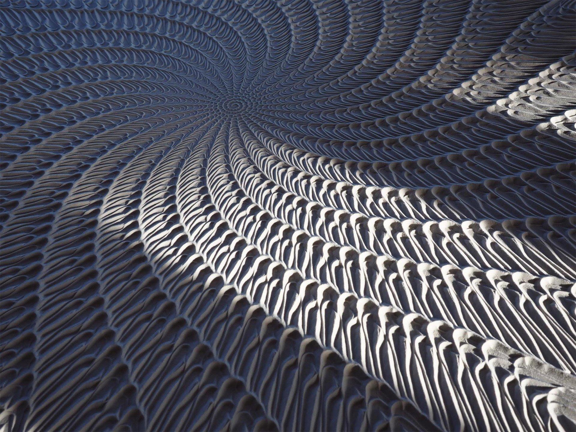 Steel Ball Sand Art