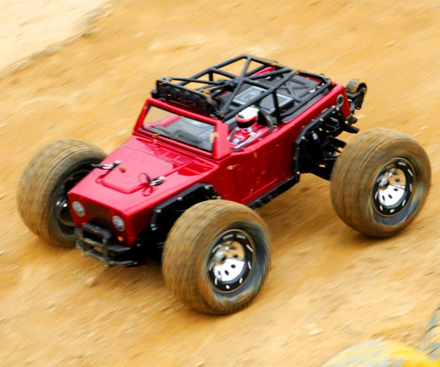 TT Kaiser RC Monster Truck