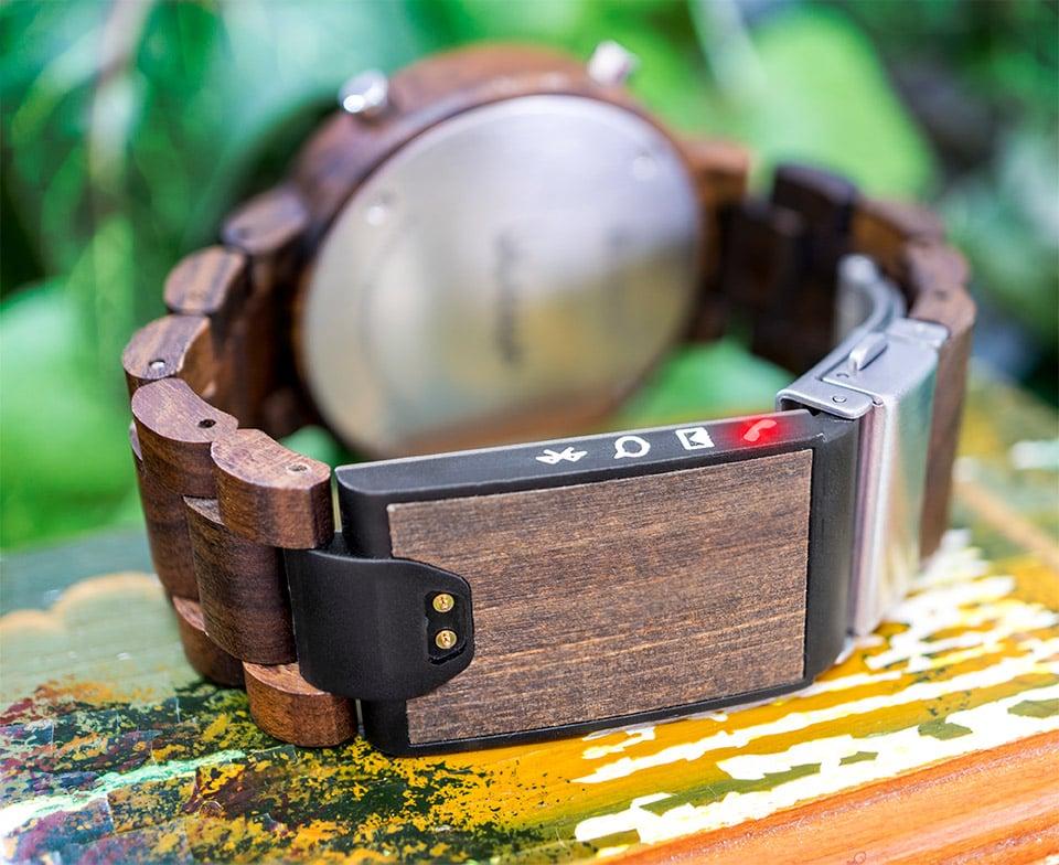 Blade Wood Link Watch