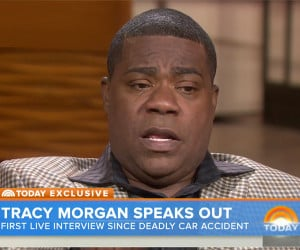 Tracy Morgan Speaks