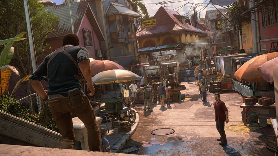 Uncharted 4 (Gameplay 2) - The Awesomer