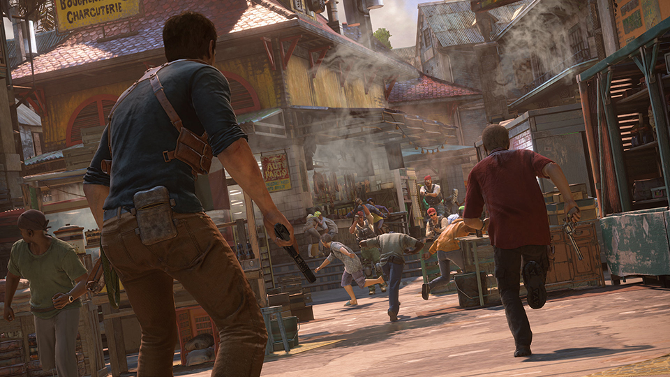 Uncharted 4 (Gameplay 2)