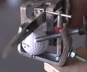 What's Inside a Golf Ball?