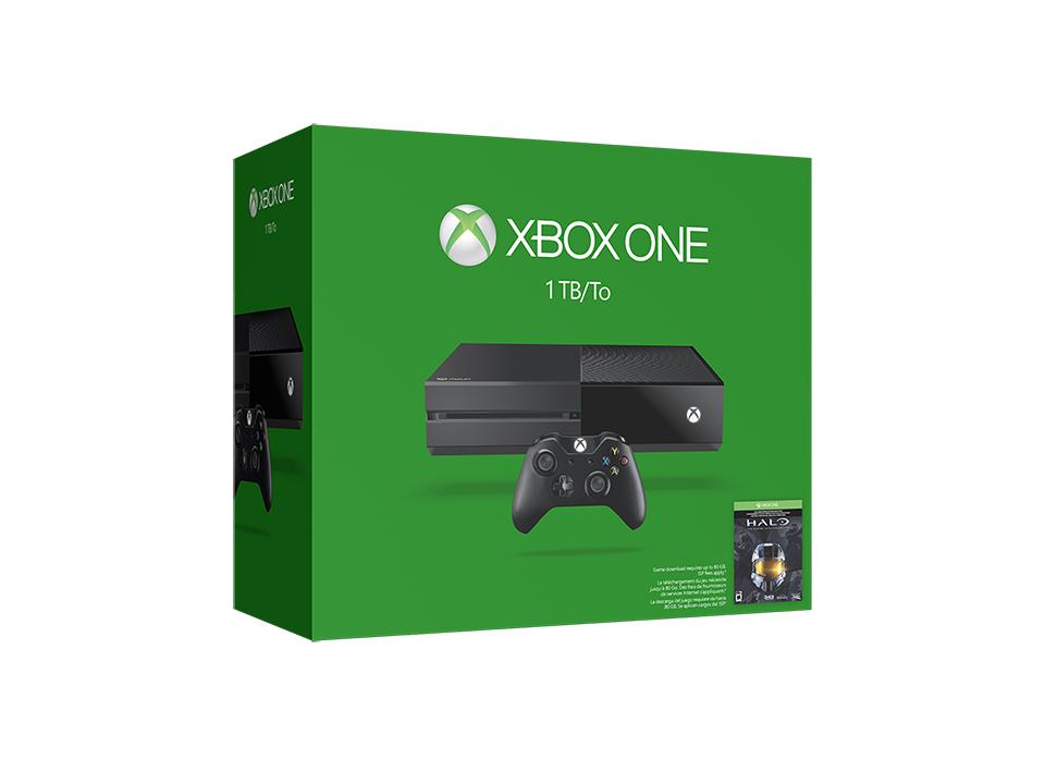Xbox One with 1TB Storage