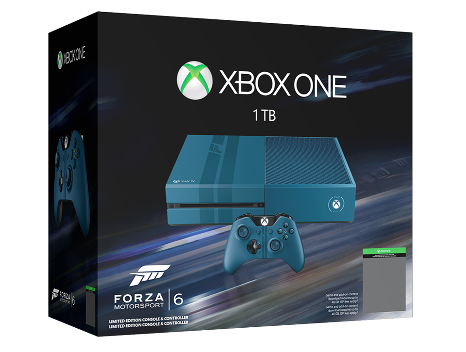 Xbox One 1TB Forza Motorsport 6 - The Awesomer