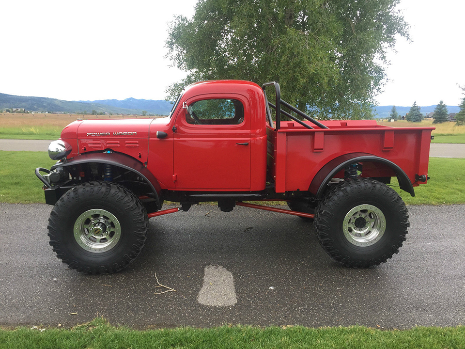 1949 Legacy Dodge Power Wagon The Awesomer