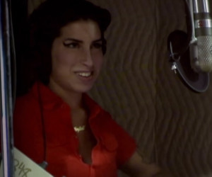 Amy Winehouse in the Studio