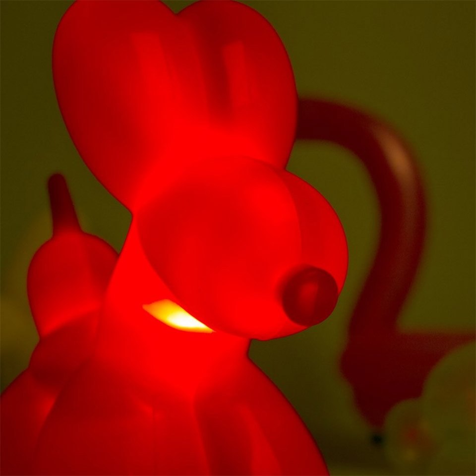 Balloon Dog Lamp