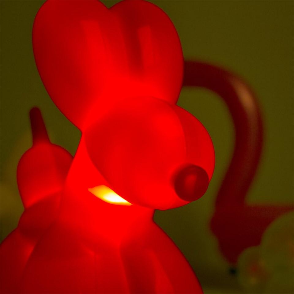 Balloon Dog Lamp