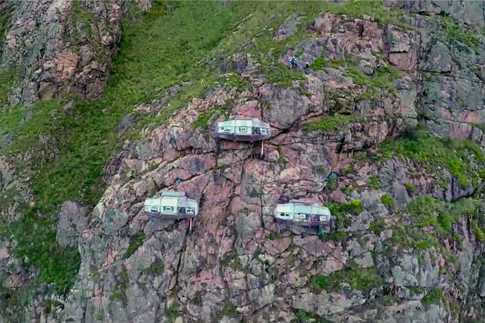 Mountainside Sleeping Capsules