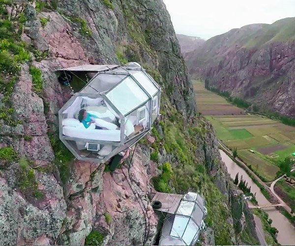 Mountainside Sleeping Capsules