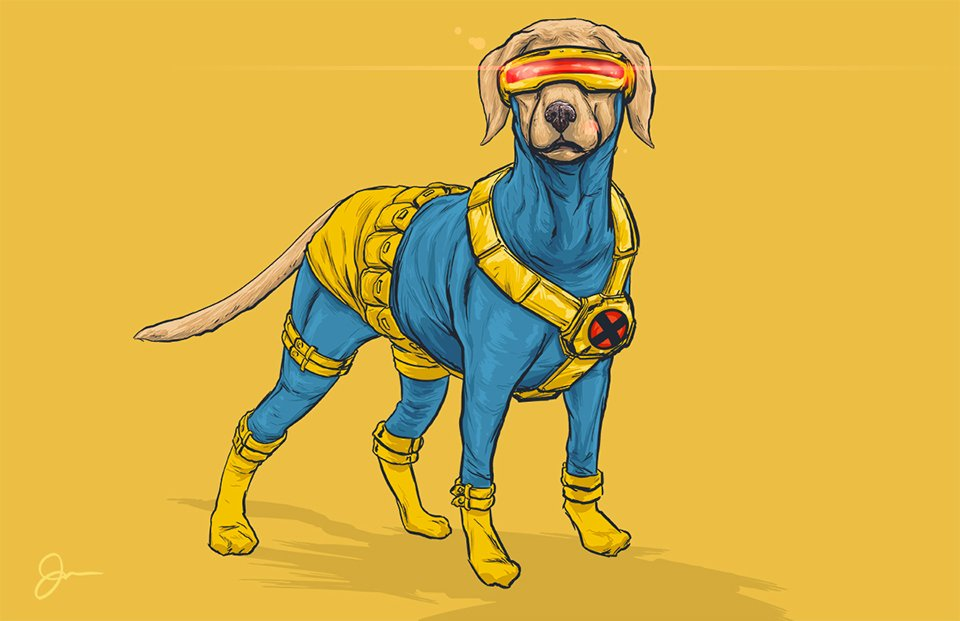 Dogs of the Marvel Universe