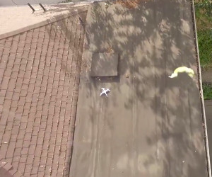 Drone Rescues Drone