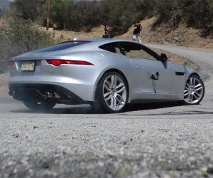 Tearing It up in an F-Type R