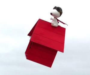 Flying Snoopy IRL