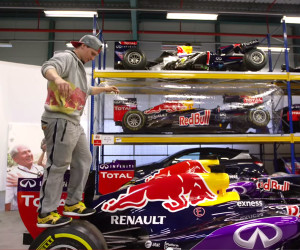 Freerunning in the F1 Factory
