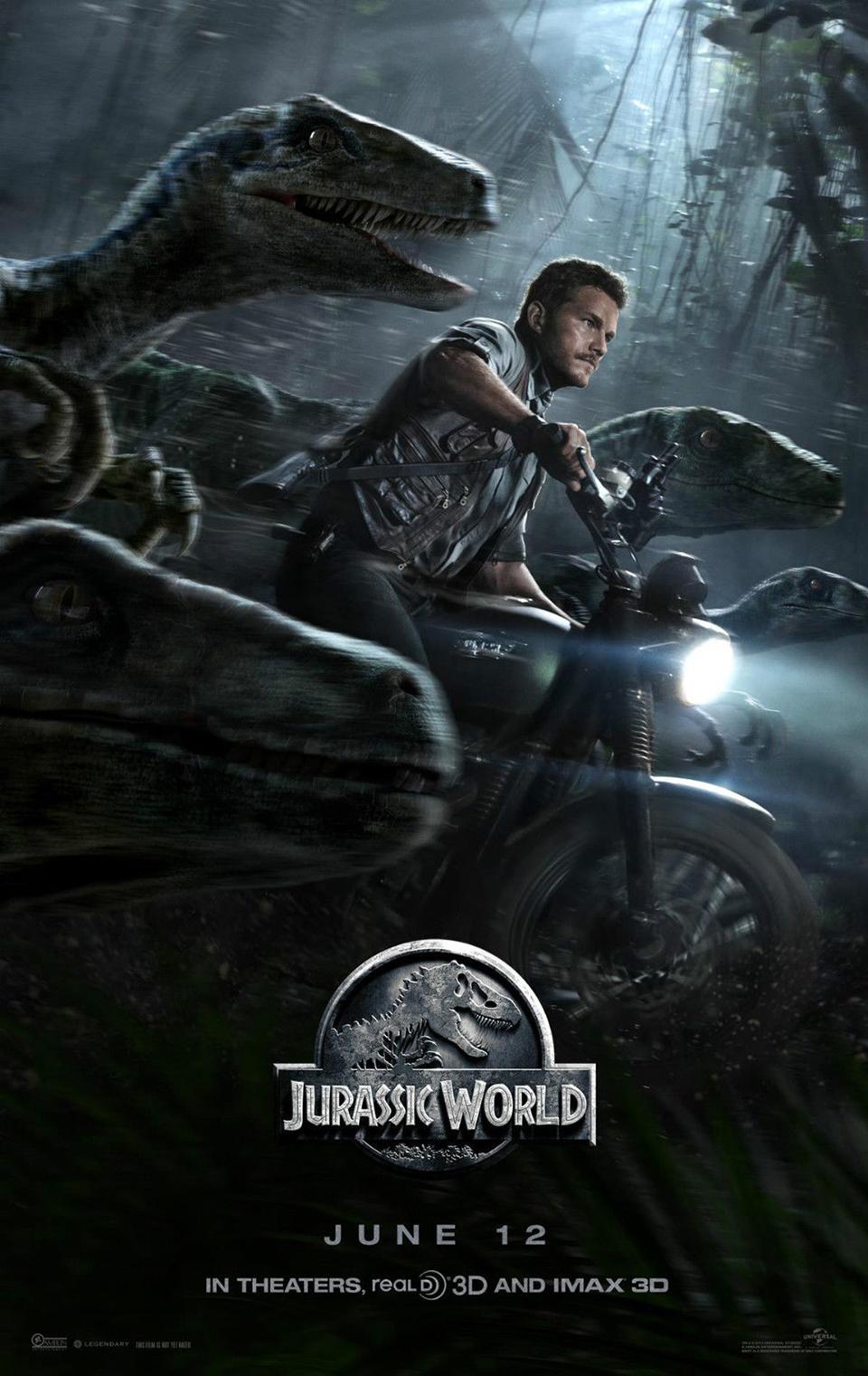 Jurassic World Triumph Scrambler