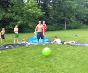 Kiddie Pool Kickball