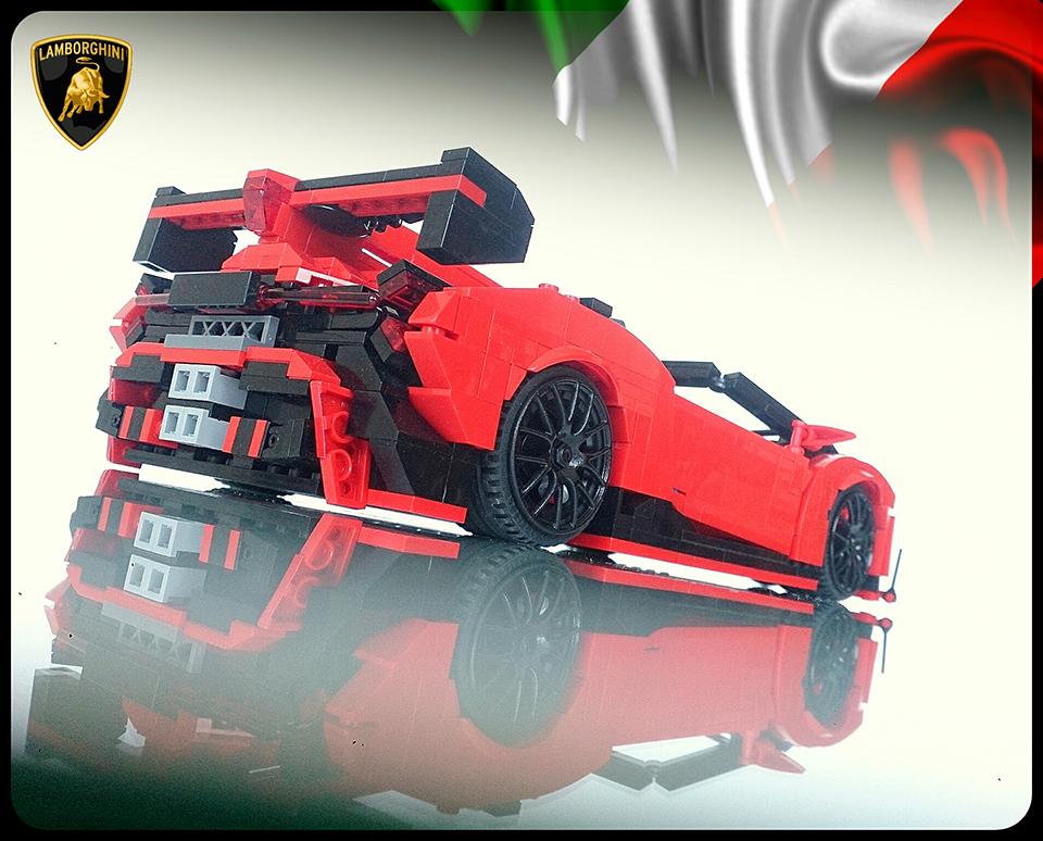 LEGO Lambo Veneno Roadster