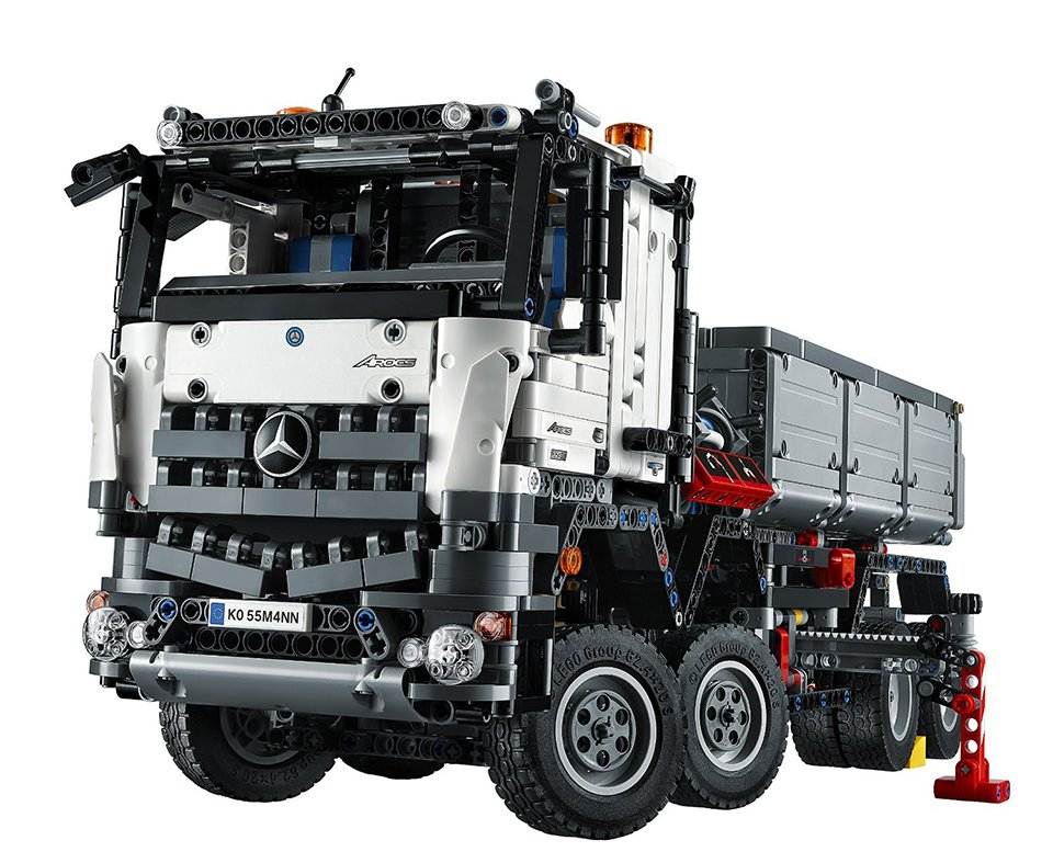 lego technic mb arocs 3245 the awesomer. Black Bedroom Furniture Sets. Home Design Ideas