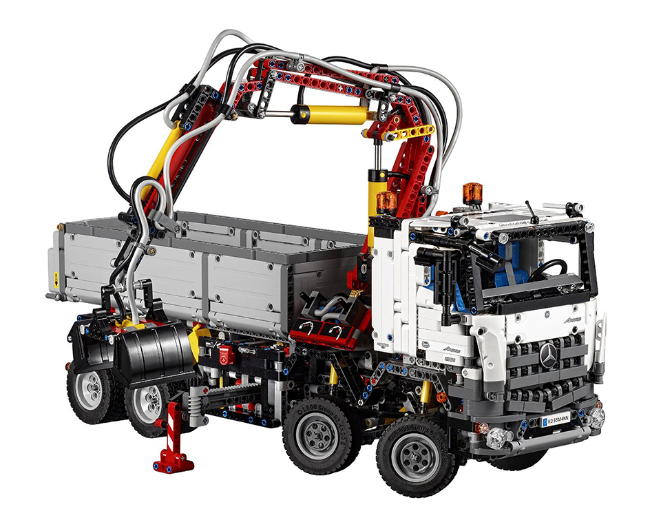 lego technic mb arocs 3245 the awesomer
