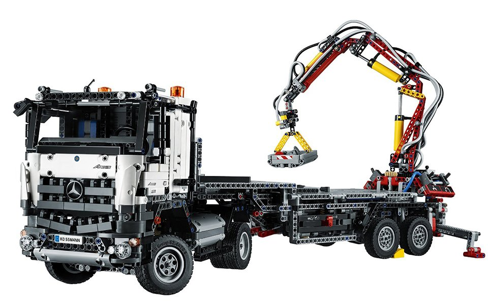 lego technic mb arocs 3245. Black Bedroom Furniture Sets. Home Design Ideas