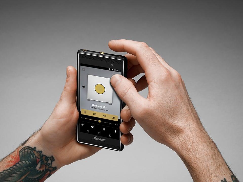 Marshall London Smartphone