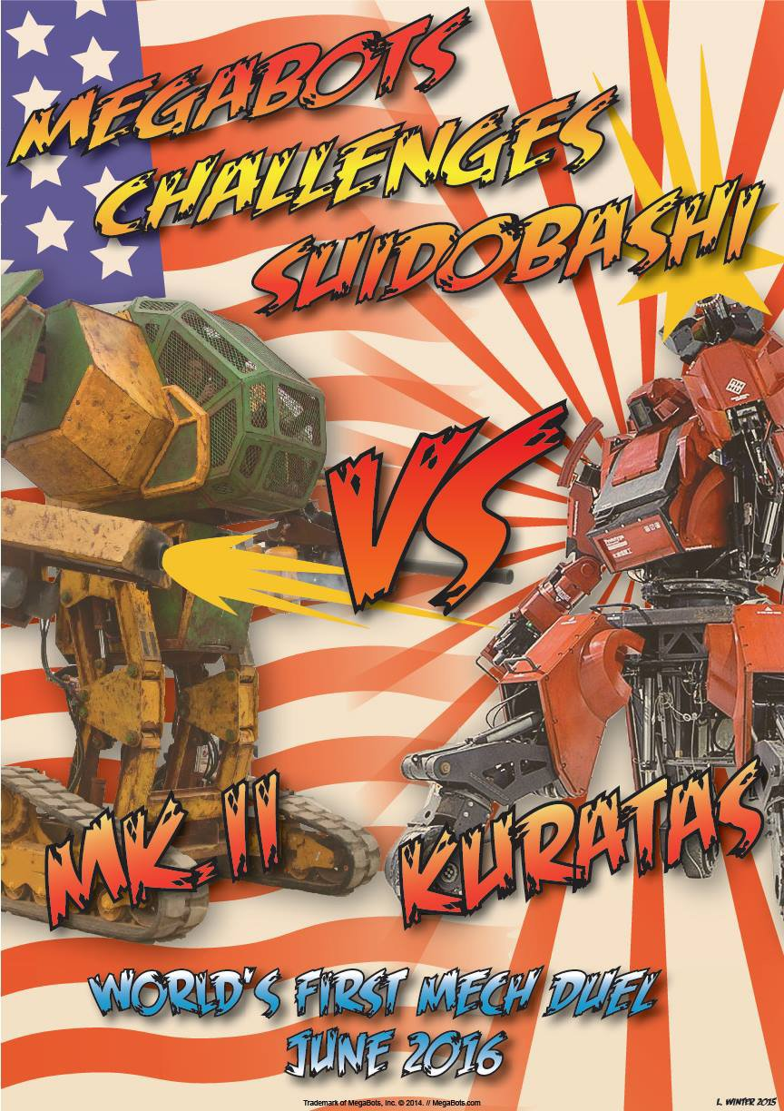 USA vs. Japan Mech Challenge