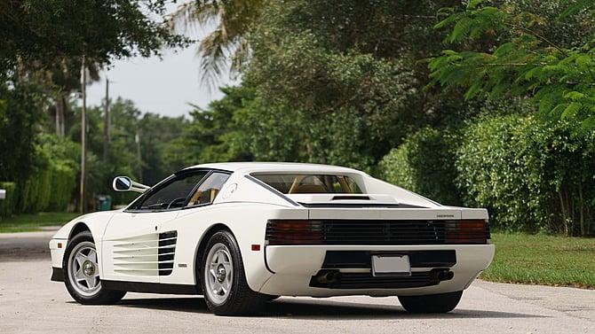 Miami Vice Ferrari Testarossa