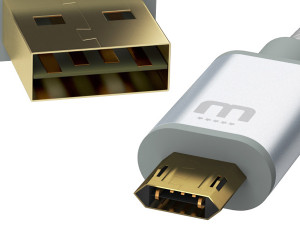 MicFlip Reversible MicroUSB Cable
