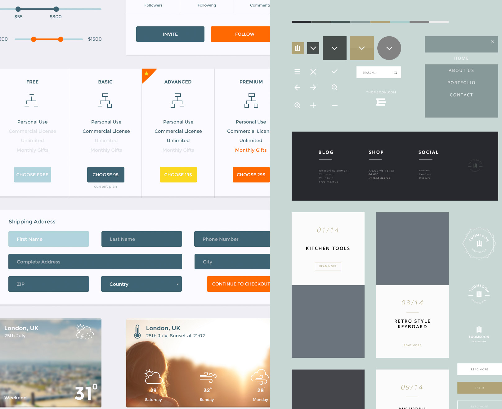 Freebie: PSDFest Design Bundle