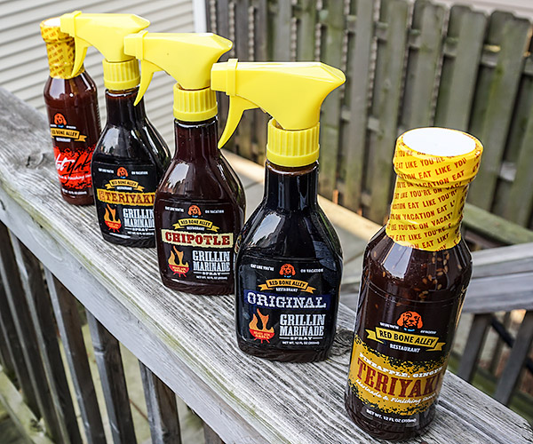 Red Bone Grill Sauces & Marinades